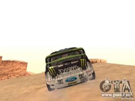 Ford Focus RS2000 v1.1 pour GTA San Andreas vue de droite