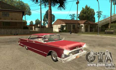 Buick LaNuit für GTA San Andreas Rückansicht