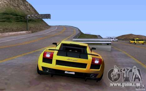 Lamborghini Gallardo Superleggera für GTA San Andreas Innenansicht