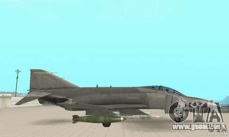 F-4E Phantom II für GTA San Andreas rechten Ansicht