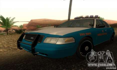 Ford Crown Victoria Georgia Police pour GTA San Andreas