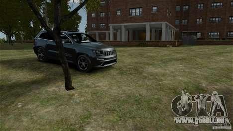 Jeep Grand Cherokee SRT8 pour GTA 4 est un droit