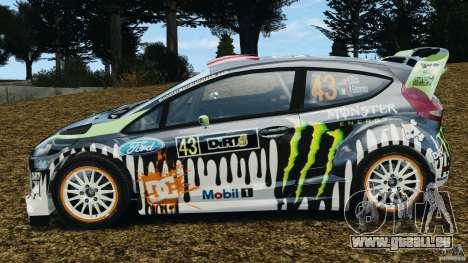 Ford Fiesta RS WRC Gymkhana v1.0 pour GTA 4 est une gauche