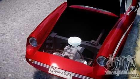 FSO Syrena Sport 1960 pour GTA 4 vue de dessus