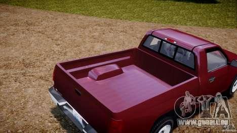 Chevrolet Colorado 2005 pour GTA 4 est une vue de l'intérieur