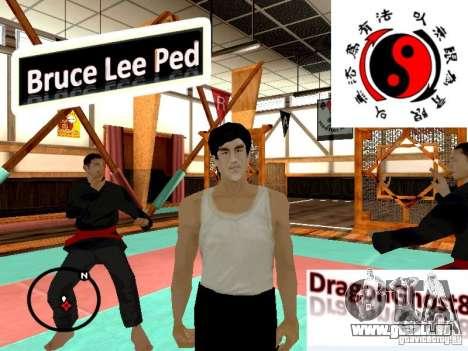Bruce Lee-Haut für GTA San Andreas