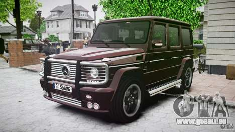 Mercedes Benz G55 AMG Final pour GTA 4