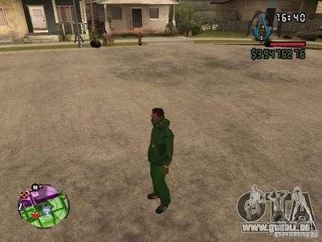 Asssassin Creed Style pour GTA San Andreas troisième écran