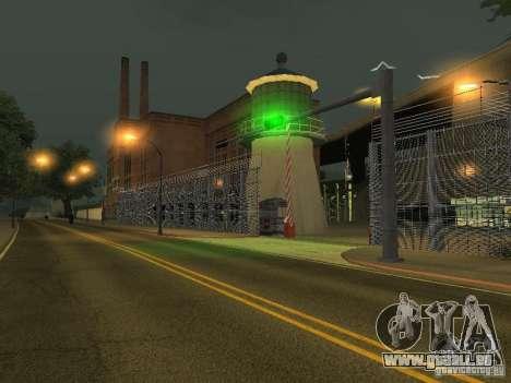 Busparkplatz v1. 1 für GTA San Andreas dritten Screenshot