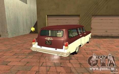 GAZ 22 pour GTA San Andreas laissé vue