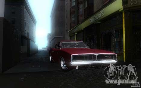 Dodge Charger RT 69 pour GTA San Andreas vue intérieure