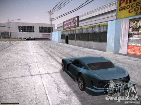 TVR Cerbera Speed 12 pour GTA San Andreas sur la vue arrière gauche