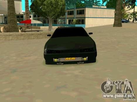 New Elegy pour GTA San Andreas vue arrière