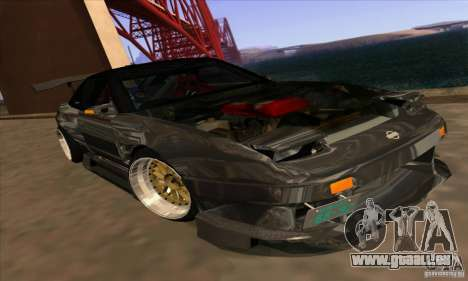 Nissan 180SX Gkon - Drift chrome für GTA San Andreas