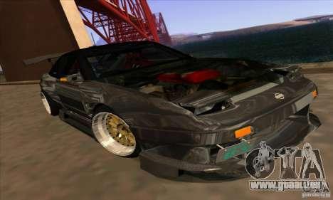 Nissan 180SX Gkon - Drift chrome pour GTA San Andreas