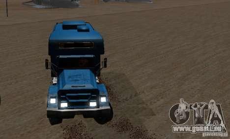 Journey 6x6 Enterable V1 pour GTA San Andreas sur la vue arrière gauche