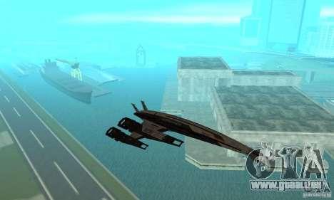 S.S.V. NORMANDY-SR 2 pour GTA San Andreas vue intérieure