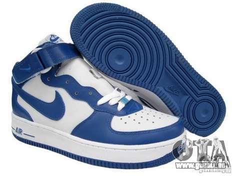 Blue Nike Air Force für GTA San Andreas
