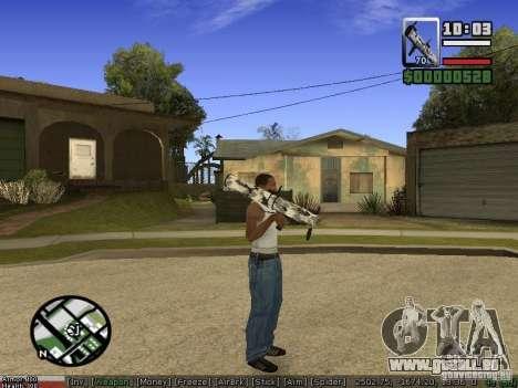 Armes de Pak pour GTA San Andreas septième écran