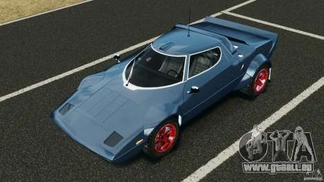 Lancia Stratos v1.1 für GTA 4 obere Ansicht