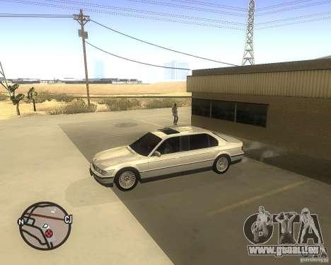 BMW 750il Limuzin für GTA San Andreas