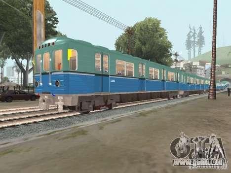 Metro e für GTA San Andreas