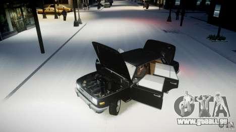 Wartburg 353 W Deluxe für GTA 4 Rückansicht