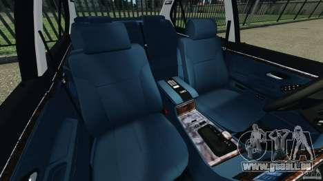 BMW 750iL E38 1998 pour GTA 4 est une vue de l'intérieur