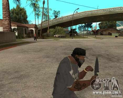 New knife für GTA San Andreas dritten Screenshot