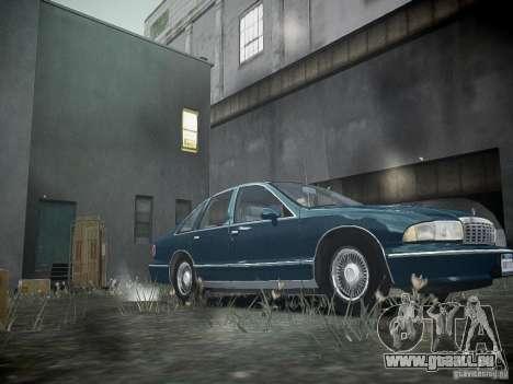 Chevrolet Caprice 1993 Rims 2 pour GTA 4 est une gauche