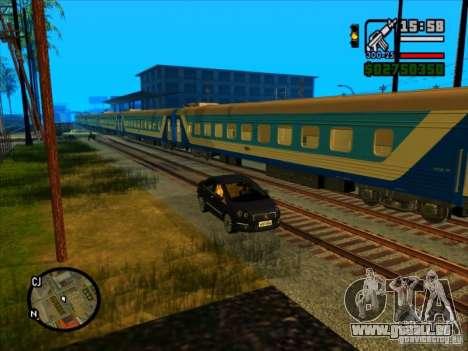 Langer Zug für GTA San Andreas her Screenshot