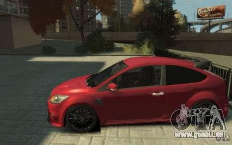 Ford Focus RS 2009 für GTA 4 linke Ansicht