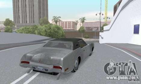 Lincoln Continental Mark IV 1972 pour GTA San Andreas vue de côté