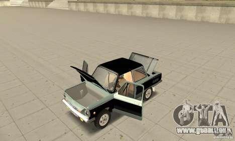 ZAZ 968 m ver 1.0 pour GTA San Andreas vue arrière