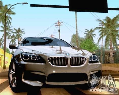 BMW M6 2013 pour GTA San Andreas vue de droite