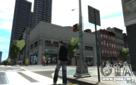 Jeans und ein T-shirt für Nico für GTA 4 Sekunden Bildschirm