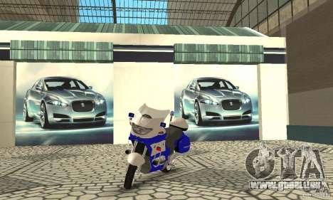 Russische Polizeimotorrad für GTA San Andreas