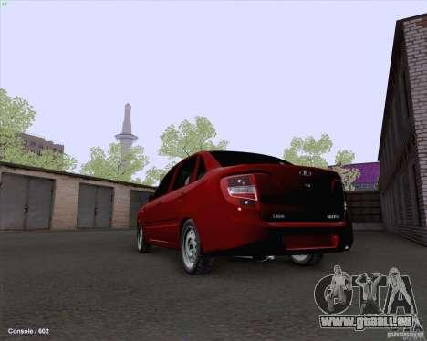 VAZ 2190 Drain pour GTA San Andreas sur la vue arrière gauche