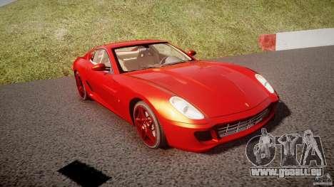 Ferrari 599 GTB Fiorano 2006 (Beta) für GTA 4 Rückansicht