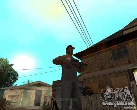 Shotgun in style revolver für GTA San Andreas