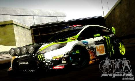 Ford Fiesta Gymkhana 5 pour GTA San Andreas