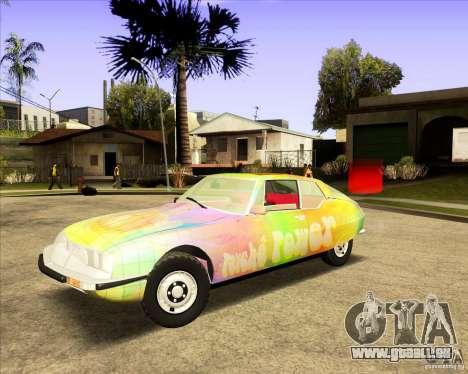 Citroen SM 1971 pour GTA San Andreas vue de côté