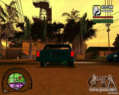 IV High Quality Lights Mod v2.2 für GTA San Andreas her Screenshot
