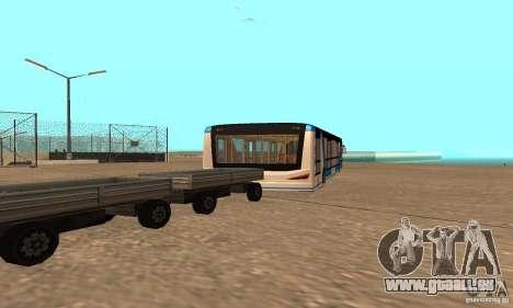 Design X XAPGL pour GTA San Andreas sur la vue arrière gauche