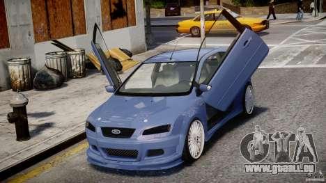 Ford Focus ST (X-tuning) für GTA 4 Seitenansicht