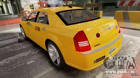 Chrysler 300c 3.5L TAXI FINAL für GTA 4 hinten links Ansicht