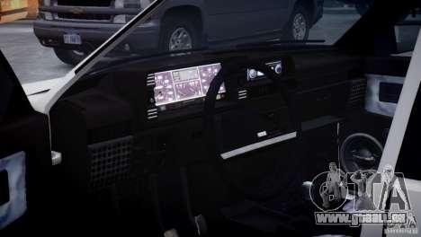 VAZ 21099 leichte Tuning für GTA 4 Seitenansicht