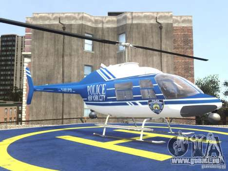Bell 206 B - NYPD pour GTA 4