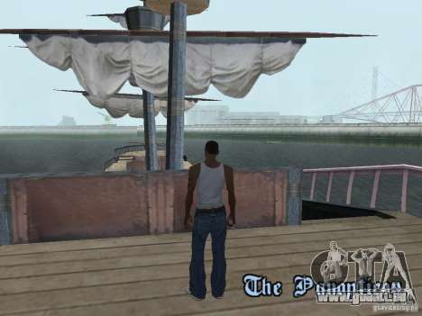 Bateau pirate pour GTA San Andreas