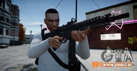 MP5 (CoD: Modern Warfare 3) pour GTA 4